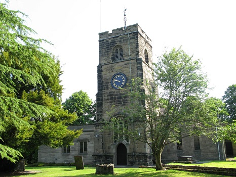Chilvers Coton All Saints parish church 2008