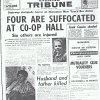 Nuneaton Co-op Hall - newspaper cutting 1966