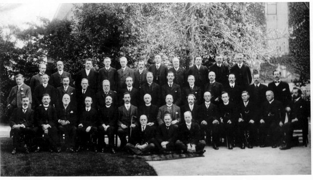 Chilvers Coton Workhouse board of guardians circa 1915