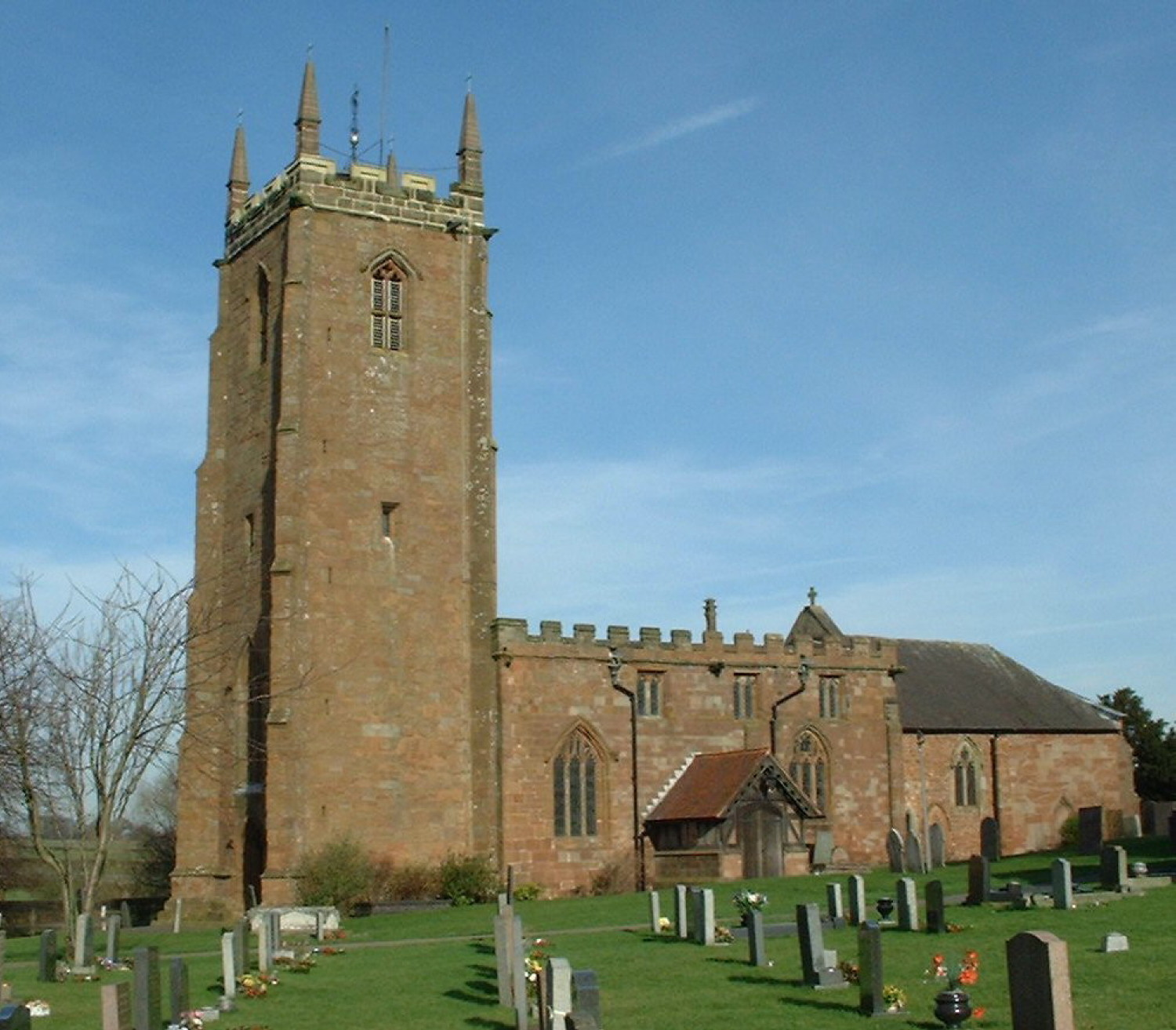 Ansley, St Laurence (Lawrence)