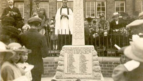 Hartshill War Memorial 1921