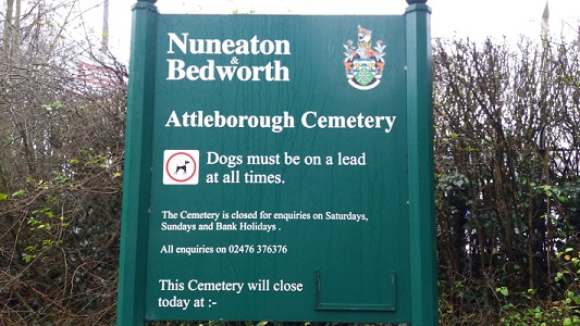 Nuneaton Attleborough Cemetery