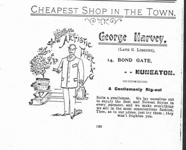 George Harvey c1901