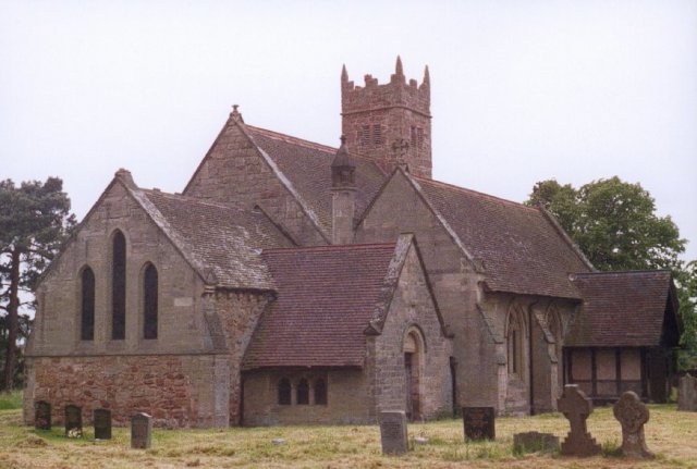 Baxterly parish church