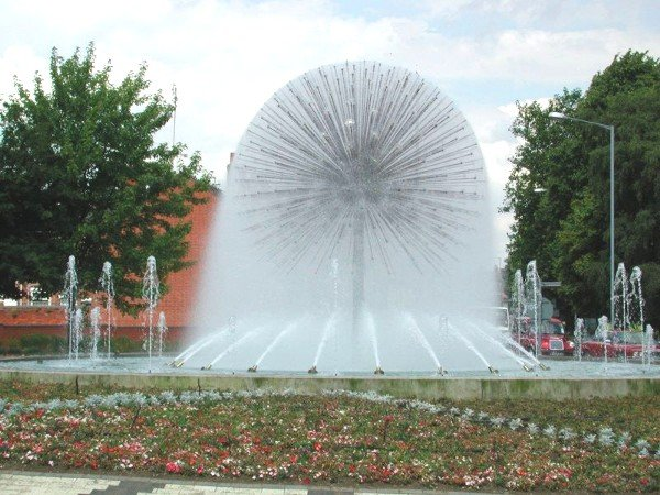 Nuneaton, Roanne fountain