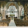 Nuneaton, St Mary's Abbey Church interior c1910