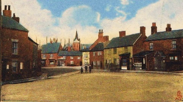 Attleborough Green c1900