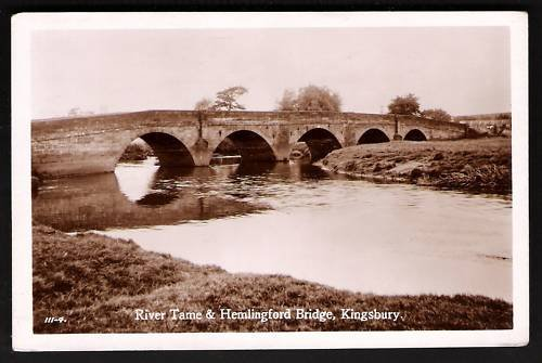 Kingsbury, Hemlingford bridge