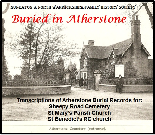 Buried in Atherstone CD