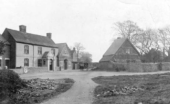 Hartshill Village Green c 1900s